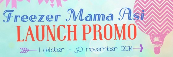 Banner Launch promo Freezer mama asi