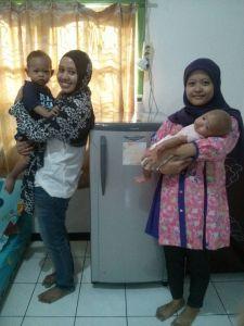 freezer mama asi bersama ibu  Lisna di Bintaro